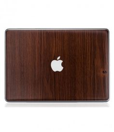 "One of Amber's Favourites: Node Lab's Macbook Pro 13"" Rosewood Skin Decal. Amber  says ""The skin is easy to apply and take off and it protects your cherished Macbook Pro while giving you the flair of a classy wood cover."" $12.00"