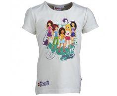 Lego Wear Friends Girls Tasja White T-Shirt #Lego #Legofriends #Legowear #Legoclothes #Friends #Childrensfashion #Lego