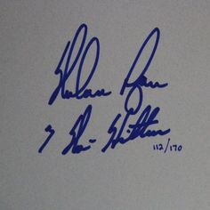 Nolan Ryan 7 No Hitters chit - This item is hand signed by Nolan Ryan and includes a Steiner Certificate of Authenticity. Gifts > Collectibles > Mlb Memorabilia. Weight: 1.00