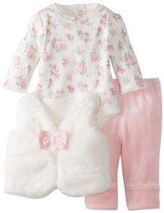 Little Me Baby-Girls Newborn Bow Fur. Baby Girl Bows, Cute Baby Girl, Cute Babies, Baby Girls, Little Girl Fashion, Toddler Fashion, Kids Fashion, Newborn Bows, Baby Girl Newborn