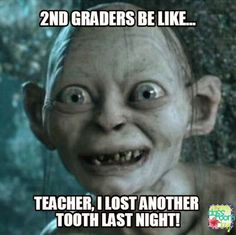 snaggle-teeth second graders!!! #teacherlife