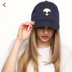 Brandy Melville alien baseball hat Download the app dote and get a $12 Brandy Melville alien baseball hat! Use my promo code KKS4 to get $5 off making the total price $12! Plus you get free ship making it that total price! Hurry before they sell out! And if you try this out Lmk in the comments below and I'll give you $2 off you next purchase with me!! Brandy Melville Accessories Hats