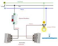 Esquemas el ctricos esquema electrico timbre conexiones - Hacer instalacion electrica domestica ...