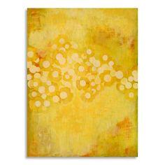 Gallery Direct Laura Gunn 'Brilliant Buttercups' Printed on Wall Art