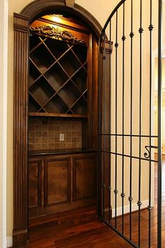 Wow your friends with this spectacular wine grotto--perfect for entertaining!!