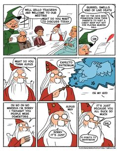 When Dumbledore Did Not Care About His Teachers Enough