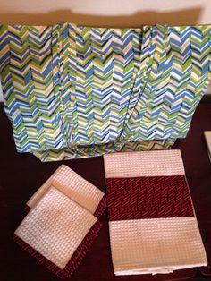 Kitchen set & Tote bag made by StrangeCreationz