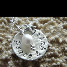hand stamped sterling silver mommy necklaces, mothers necklaces and custom jewelryShop Simple Starfish for unique personalized hand stamped jewelry. Our jewelry is sterling silver and can be customized on request. Cheap Silver Rings, Mens Silver Rings, Silver Bracelets, Silver Earrings, Mommy Necklace, Costume Necklaces, Hand Stamped Jewelry, Silver Charms, Jewelery