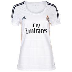 Tienda Futbolmania somos Camiseta 1ª Fútbol Real Madrid 2013 14 Manga Corta  Mujer jm9 balones db8878a72b8