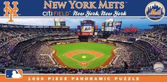 NEW Jigsaw Puzzle 1000 Piece MLB NEW YORK METS Citi Field Baseball Sports #MasterPieces