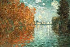 Autumn Effect at Argenteuil – Claude Monet; 1873
