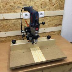 Holzwurm Tom: Ein Bohrtisch für den Wabeco Bohrständer