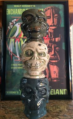 Enchanted Tiki Bar - Shrunken Zombie Head - 1st, 2nd & 3rd editions