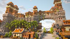 """""""City of Corona"""" a small building by one of our team members : Minecraft Minecraft City Buildings, Minecraft Structures, Minecraft Castle, Cute Minecraft Houses, Minecraft Plans, Minecraft House Designs, Minecraft Survival, Amazing Minecraft, Minecraft Tutorial"""