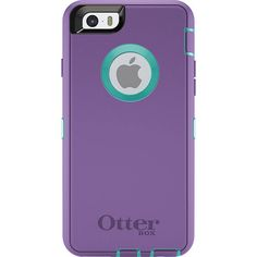 NEW iPhone 6 Otterbox Defender Series case Purple with Teal. Starting at $17