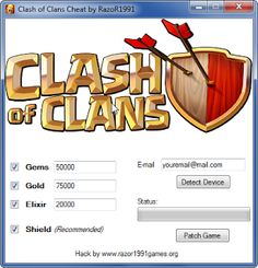 New Hack Game: Clash of Clans Hack