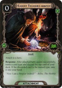 Bilbo Baggins (Expert Treasure-hunter card lotr lcg)