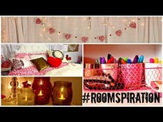 Spice up your room with homemade decorations & other #roomspiration ideas