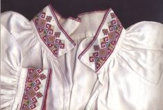 Costume and 'Rosemaling' Embroidery of West Telemark, Norway Hardanger Embroidery, Cross Stitch Embroidery, Folk Costume, Costumes, Norwegian Rosemaling, Folk Clothing, Traditional Fashion, Nordic Style, Norway