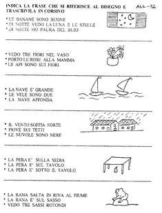 Mamma: news e articoli Italian Lessons, Italian Language, Pre School, Kids And Parenting, Teaching, Education, Geography, Alphabet, Sentences