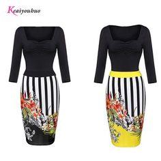 2017 Summer Women style casual club Long Female dresses Vintage Slash neck Women Floral pattern Plus Size S-L-XL ladies clothing