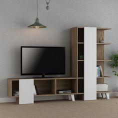 We need furniture for progressively agreeable lives and use it for capacity, for sitting on, and for dozing. This is why you need good furniture. Get our CAGO Dark Oak and White TV Unit for only $816.00.  Tags: #doseofmodern #television #tv #cinema #movie #movies #furniture #watch #furnituredesign #watches #actor #trivia #tvshow #netflix #media #film #actress #watchesofinstagram #series #entertainment #watchporn #watchoftheday #woodworking #interior #sofa #timepiece #radio #homedecor #decor Tv Unit Furniture, Cool Furniture, Modern Furniture, Furniture Design, White Tv Unit, The Unit, Sofa, Living Room, Interior