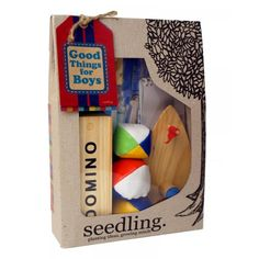 Seedling Toys -Good Thing for Boys - essential kit- great brand btw for creative kids