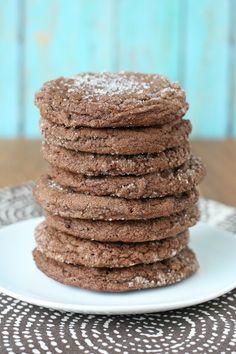 Chocolate Sugar Cookies from @glorioustreats