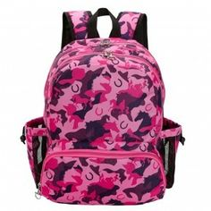 8fcd042094 Horse Lila Pink-Purple Camo BackPack ⋆ Show Me Country