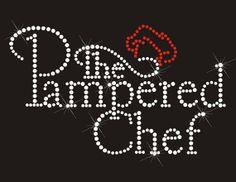 Pampered Chef Hot Fix Rhinestone Transfer