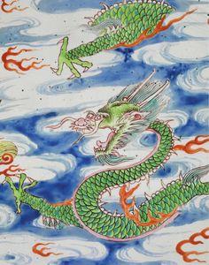 China dragon Ming