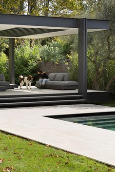 There are lots of pergola designs for you to choose from. First of all you have to decide where you are going to have your pergola and how much shade you want. Wooden Pergola, Outdoor Pergola, Outdoor Rooms, Backyard Patio, Backyard Landscaping, Outdoor Living, Outdoor Decor, Pergola Kits, Cheap Pergola