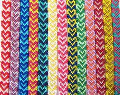 Heart Friendship Bracelets - Boho Bracelets - Knotted Thread Handmade Colorful Woven Friendship Bracelet