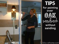 Tips for Painting Over Oak Woodwork