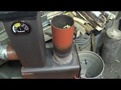 Poele rocket stove mass heater mise a jour - YouTube
