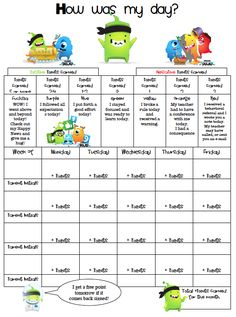 Second Grade is the Bee's Knees: Classroom Management This reminds me of your class dojo system yolanda and Melissa.