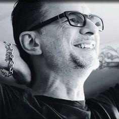 New pic of #DaveGahan. #depechemode