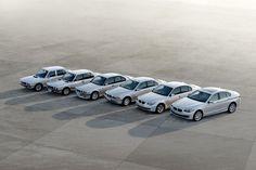BMW Series 5 evolution.