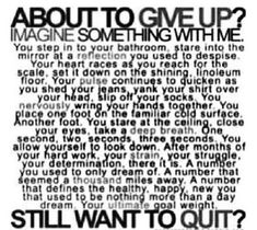 Don't give up.. #atips