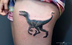 Blue from Jurassic World Tattoo