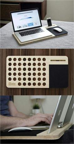 Lap Desk (fan + mouse pad + phone holder)