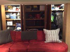 Peek a boo, tons of storage