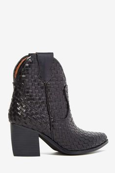 Jeffrey Campbell Wrangler Leather Boot