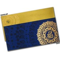 Premium Indian Wedding Card with Satin Fabric Paper making it Fabulous