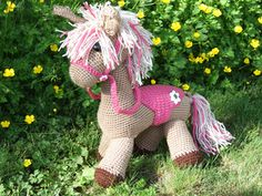 Crochet little Horse free patttern