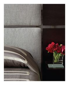 Interiors - April/May 2013  Designer: Gary Hutton Product: DB-119SU Bed #interiordesign #americanmade #interiordesigner #upholstered #interiorsmagazine
