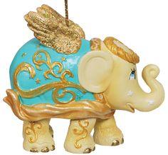 Elephantparade Christmas Tree Ornament Angel Home Decor Elephant