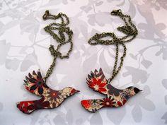 Saddleback necklace | Felt