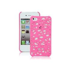 Hot Pink Birds Nest Case for Apple iPhone 4, 4S (AT&T, Verizon,... ($2.25) ❤ liked on Polyvore featuring accessories and tech accessories