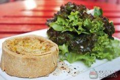 Receita de Tarte de alho poró com cream cheese em receitas de tortas salgadas, veja essa e outras receitas aqui!